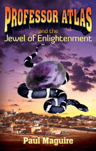 """Dog Ear Publishing releases """"Professor Atlas and the Jewel of Enlightenment"""" by Paul Maguire."""