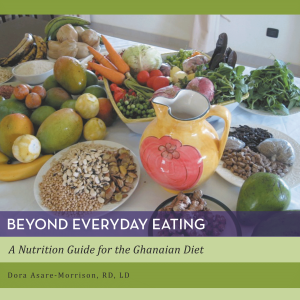 "Dog Ear Publishing releases ""Beyond Everyday Eating: A Nutrition Guide to the Ghanaian Diet"" by Dora Asare-Morrison."